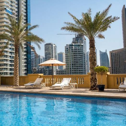 Swimming pool suha jbr hotel apartments dubai