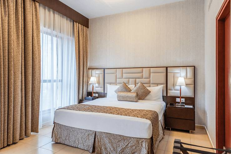 Two bedroom marina view apartment suha jbr hotel apartments dubai