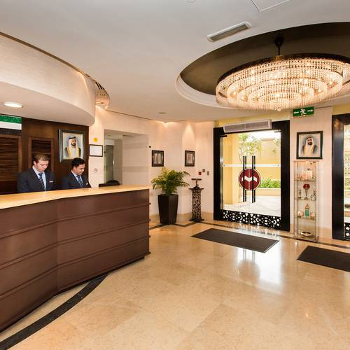 Reception Hotel Suha Apartments